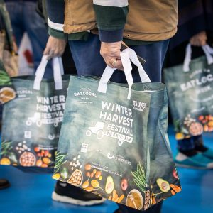 Record 12,000 Winter Harvest Festival Crowd - Eat Local Week