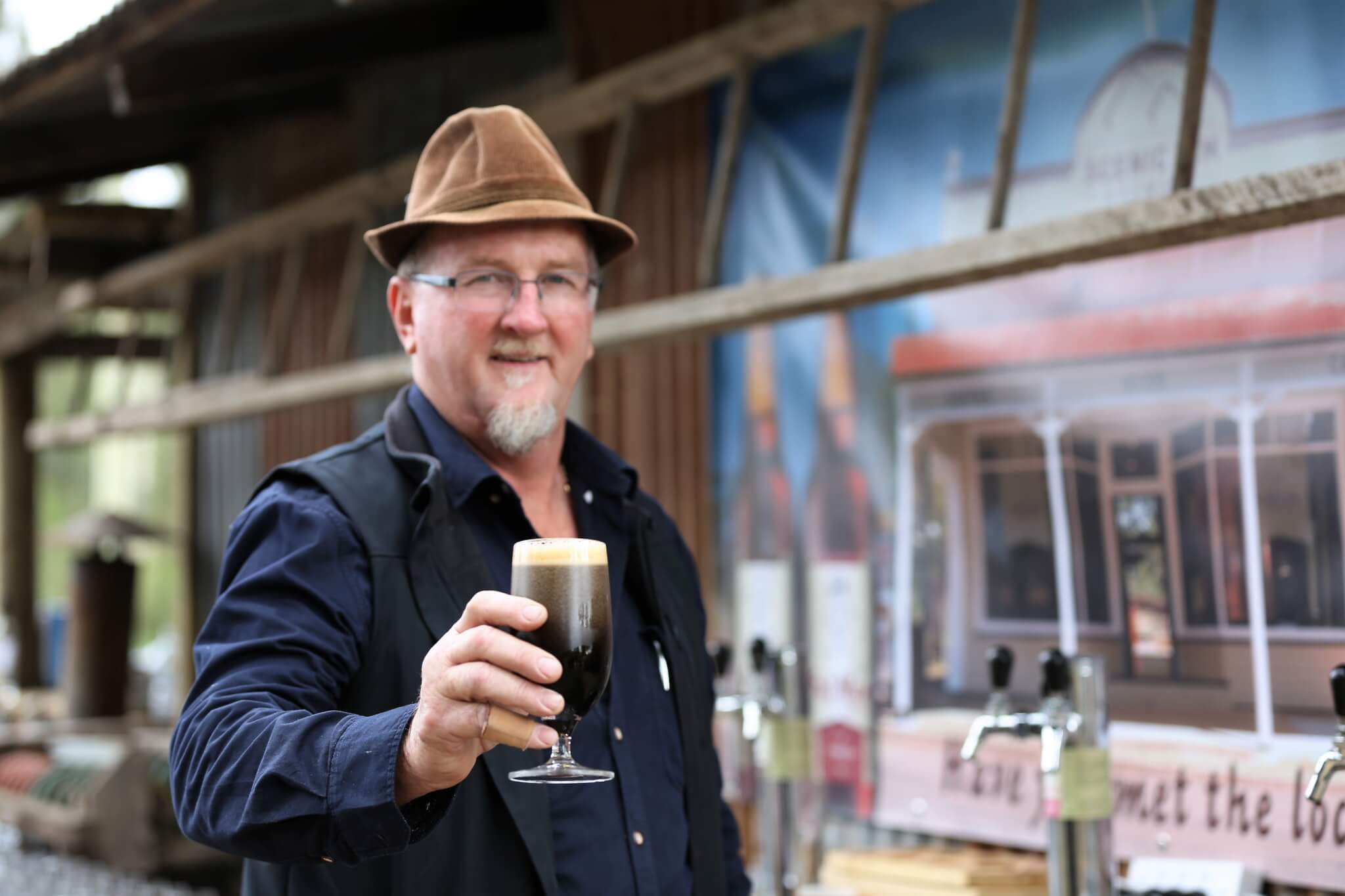 Milking local farms for new beer brew